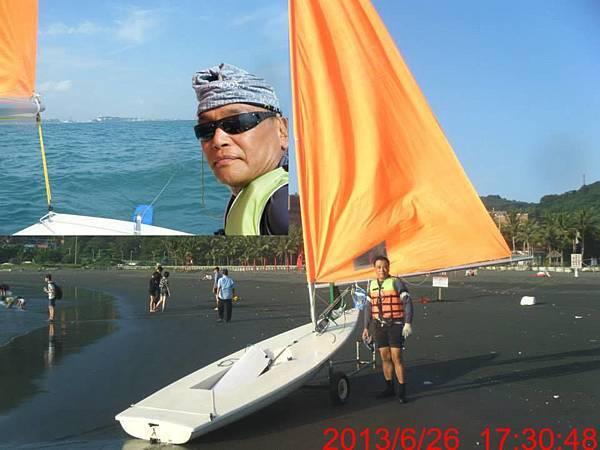 雷射帆船5