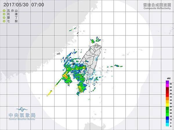 雷達回波圖