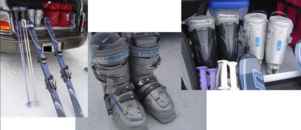 我們的滑雪裝備