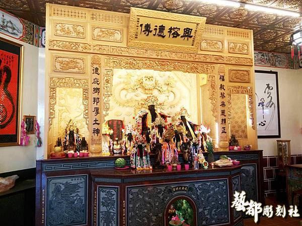 屏東南興廟神龕