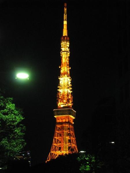 看到東京鐵塔了