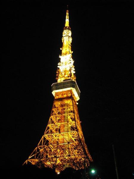 走更近看東京鐵塔
