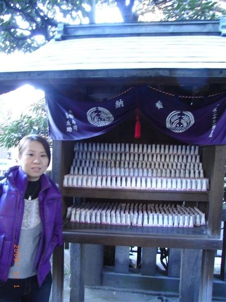 我和淺草神社旁的稻荷神社