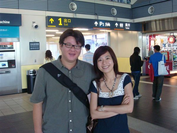 這次台南之旅的東道主 可以互相攻擊肚子跟臉頰的好學長小瞇
