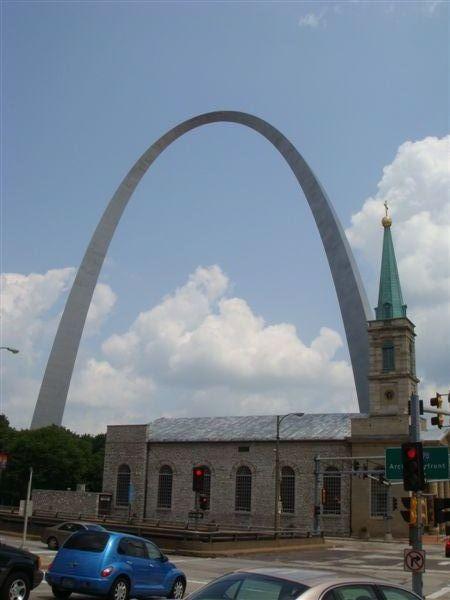 St Louis 是美國早期往西部拓荒的起點