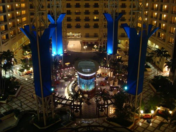 第二天晚上住的飯店超級豪華