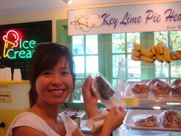 Chocolate dipped key lime pie~~