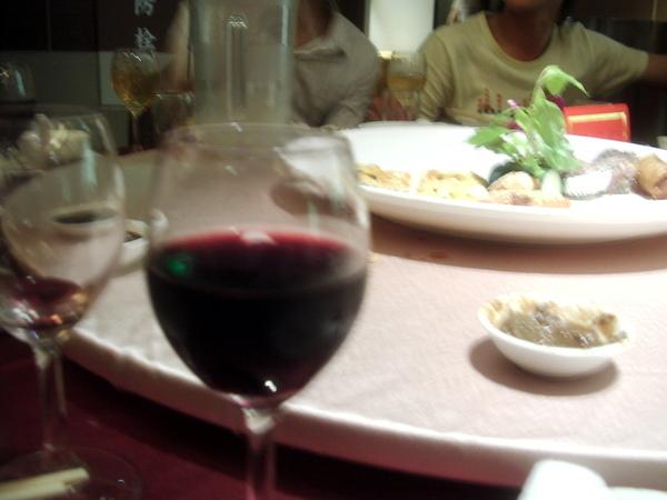 紅酒/佳餚