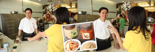 老闆也提供泡菜宅配服務^^
