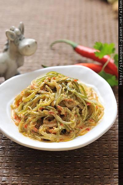 益康美食館-黃金海帶絲1(黃金海帶芽)