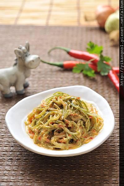 益康美食館-黃金海帶絲2(黃金海帶芽)