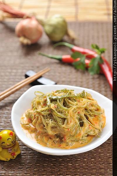 益康美食館-黃金海帶絲3(黃金海帶芽)