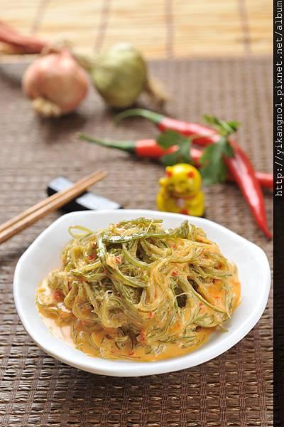 益康美食館-黃金海帶絲5(黃金海帶芽)