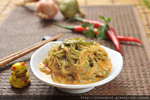 益康美食館-黃金海帶絲6(黃金海帶芽)