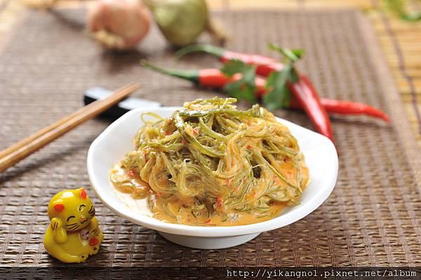 益康美食館-黃金海帶絲7(黃金海帶芽)