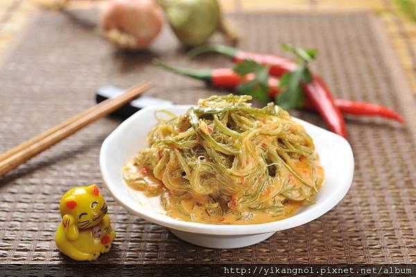 益康美食館-黃金海帶絲8(黃金海帶芽)