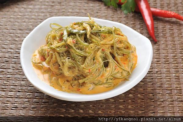 益康美食館-黃金海帶絲15(黃金海帶芽)