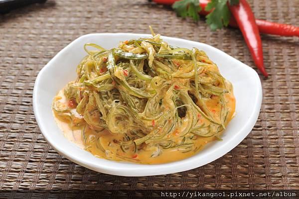 益康美食館-黃金海帶絲17(黃金海帶芽)