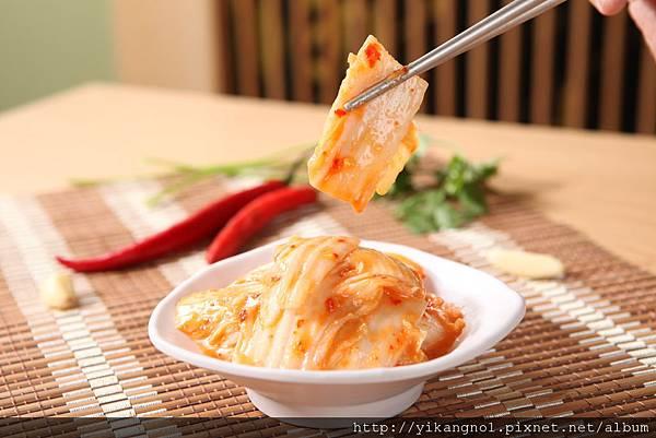 益康美食館-黃金泡菜1