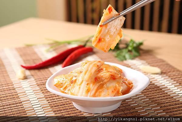 益康美食館-黃金泡菜2