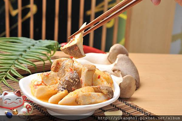 益康美食館-黃金杏苞菇2