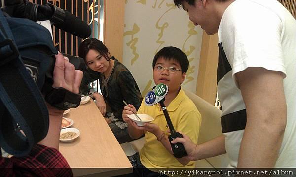 益康美食館-華視新聞採訪2