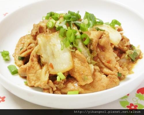 泡菜炒豬肉