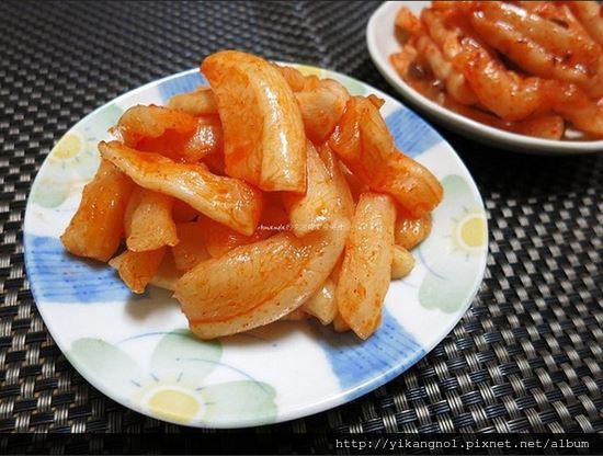 自製蘿蔔泡菜