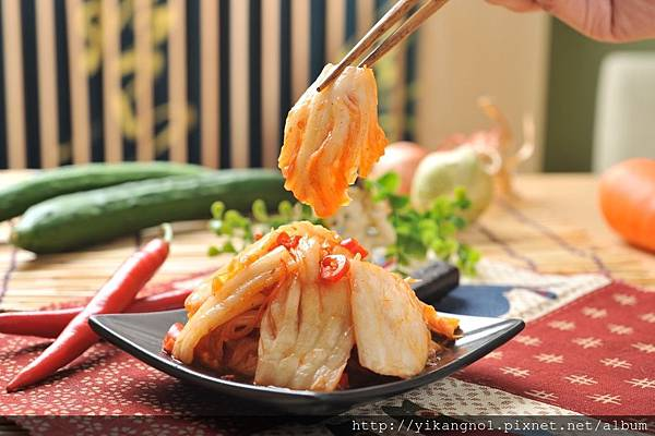 泡菜輕食料理1