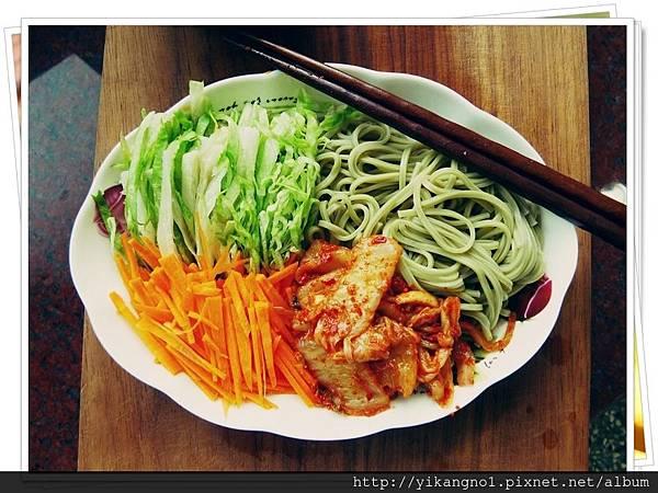 黃金泡菜輕食料理食譜1