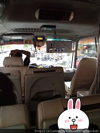冬山鄉免費巴士-搭車中-