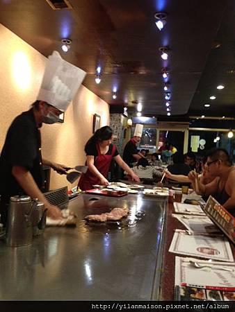 20130615真愛鐵板燒廚師