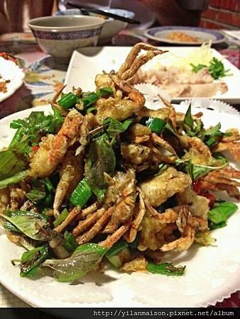 駿3椒鹽軟殼蟹