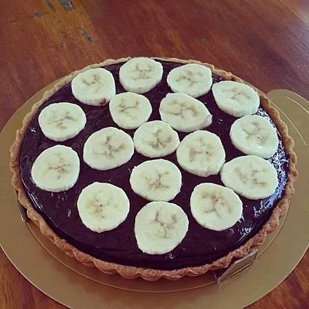 香蕉巧克力派