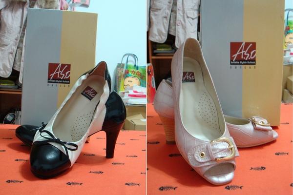 新買的阿瘦皮鞋