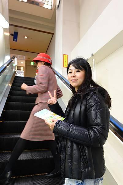 我們專屬的英文導覽-秋山小姐