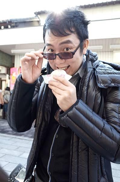 到太宰府,一定要吃吃有名的梅枝餅