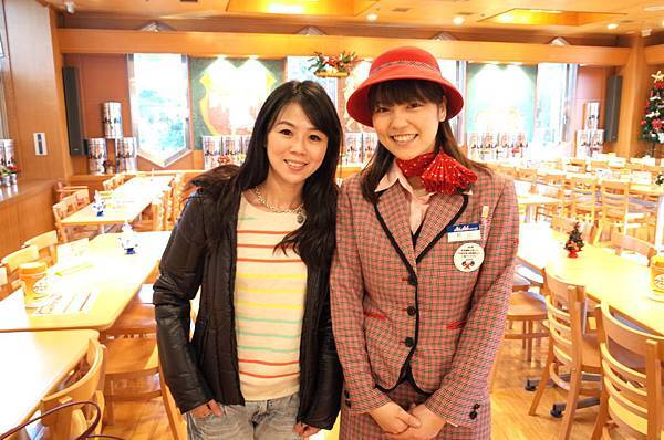 可愛的秋山小姐,英文講得很好呢!
