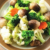 素食食譜-草菇燴花椰菜(1)