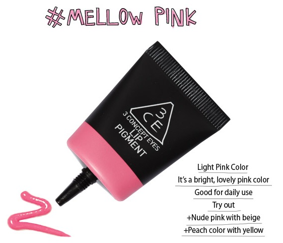 3ce LipPigment #mellow pink