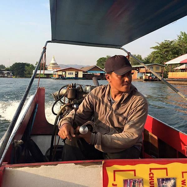 泰國北碧kanchanaburi-tessabal pess遊河