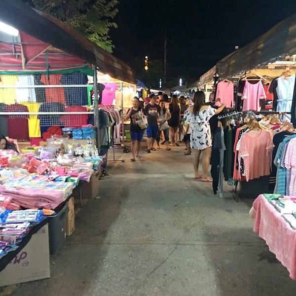 泰國北碧kanchanaburi的JJ夜市