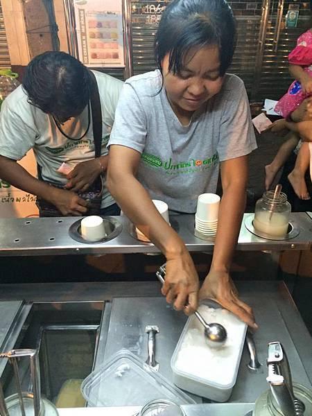 中國榴槤冰淇淋