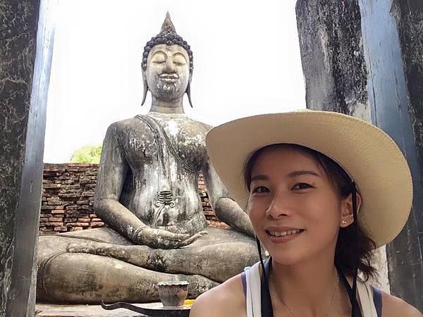 素可泰古城第三區-泰國最大坐佛
