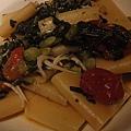 銀魚、芥蘭苗與拿波里帕克哩管麵