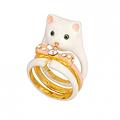 Tous Beaux Tous Doux Ring white