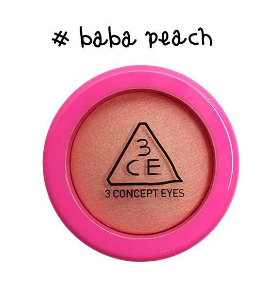 #baba peach