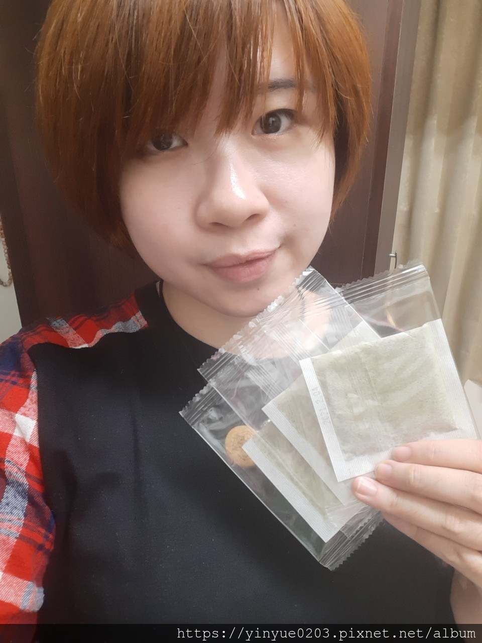 舒纖美顏茶的獨立茶包衛生又方便