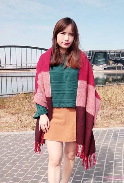 圍巾/shein.com/pazzo/net