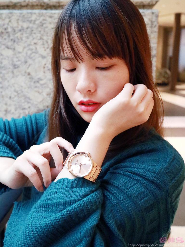 玫瑰金手錶/香檳金手錶/NIXON